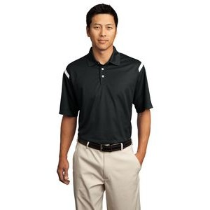 Nike Golf Dri-Fit Shoulder Stripe Polo Shirt