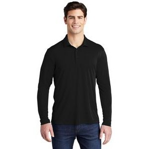 Sport-Tek® Men's Posi-UV™ Pro Long-Sleeve Polo