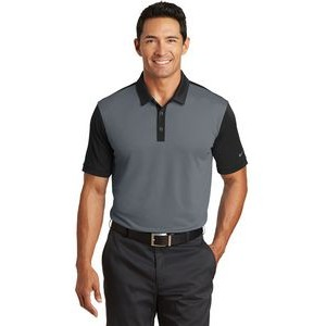 Nike Golf Dri-Fit Colorblock Icon Modern Fit Polo Shirt