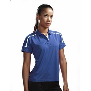 Women's Tri-Mountain Performance® Lady Titan Contrast Trimmed Polo