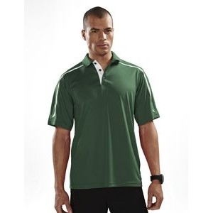 Men's Tri-Mountain Performance® Titan Contrast Trimmed Polo