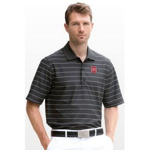 Greg Norman™ Play Dry® Performance Striped Mesh Polo