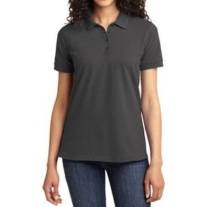 Port & Company® Ladies Core Blend Piqué Polo