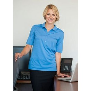 Women's Rockhurst Syntrel™ Jacquard Stripe Polo Shirt