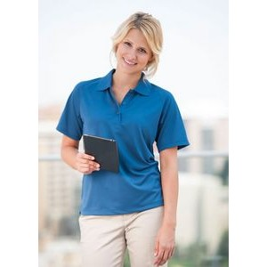Women's Palmetto Saddle Shoulder Pique Polo Shirt